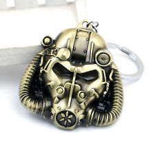 Game Fallout 4 Sign Logo Brass Keychain Pendant Key rings Collection Xmas Gift