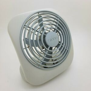 O2COOLTreva  Battery Operated Portable Two Speed Fan - Gray
