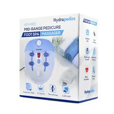 Foot Spa Massager with Heating, Bubbles & Vibration Massage - Hydrapedics HP-MR5