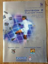 More details for grimsby v northampton town play off final programme 1998 wembley league 1 2