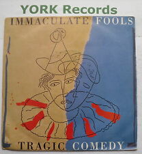 """IMMACULATE FOOLS - Tragic Comedy - Excellent Condition 7"""" Single A&M  390172-7"""