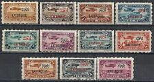 Lattaquié stamps 1931 Yv Airmail 1-11 Mlh Vf