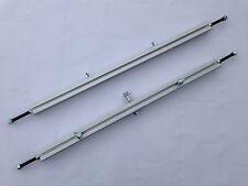 Seifenkiste Aluminium-Achsen Set Spurweite 730 mm