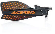 NEW ACERBIS X-ULTIMATE BLACK ORANGE HANDGUARDS SXF250 SXF350 SX125 SX250 SX85