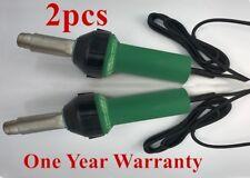 2pcs 110/220V 1.6KW Plastic Welding Machine Hot Air Gun Plastic Welder Heat