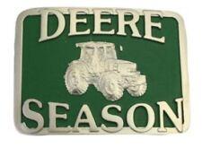 t2 Montana Silversmiths John Deere Season Brass Attitude Belt Buckle Western