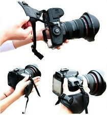 Fashion Leather DSLR Camera Grip Wrist Hand Strap for Canon Nikon Sony Pentax FJ