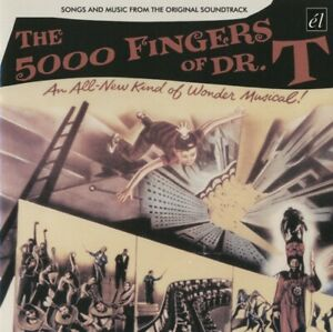 The 5000 Fingers Of Dr. T - 1952 Film Soundtrack CD Like New