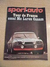 SPORT AUTO n°116/sept 71  Essai Mc LAREN CANAM M8 E; BMW 3 CS Coupé; SIMCA 1000S