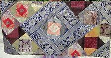 Taie d'oreiller patchwork en soie Fait à la main en Inde Housse de coussin S23