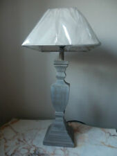 Wooden French Country 41cm-60cm Height Lamps