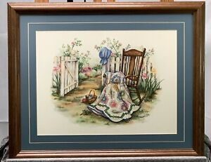 Paula Vaughan Signed and Numbered Wood Framed Print 22x18  362/2500