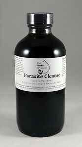 8oz Parasite Cleanse Tincture/Extract - Wormwood, Black Walnut Hull, Clove