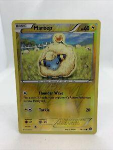2016 Mareep Holo Rare Reverse Steam Siege Pokemon Card NM 38/114