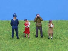 OO/HO gauge Painted Standing People - P&D Marsh PDZ02 free post F1