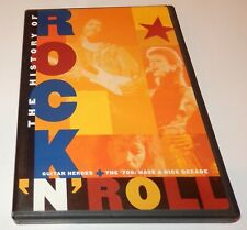 The History Of Rock 'N' Roll Guitar Heroes '70s (DVD, 1995) Time Life