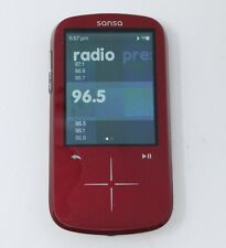 Sandisk Sansa Fuze+ 4GB Red MP3 Digital Media Player