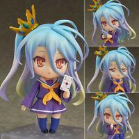 Nendoroid Shiro S-style No Game No Life Zero 10cm PVC Figure Toy no box