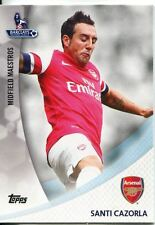 Premier Gold 13/14 Midfield Maestros Chase Card MM-SC Santi Cazorla