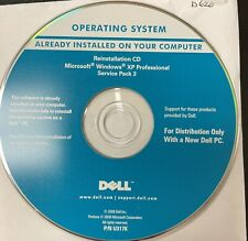 Dell Windows XP Professional Service Pack SP3 Reinstall CD