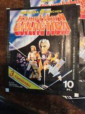 Battlestar Galactica 1978 Paquet Vignettes Neuf Americana Munchen Comme Panini