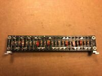 """Vintage DOUBLE SIDED Turret Board w/ 46 Terminals for Mounting 9.5"""" x 1.5"""" 1960s"""