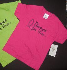 NWT 100% preshrunk Cotton T shirt 4 colors ch/ladies & Plus Sizes Dance for HIM
