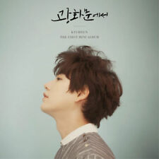 SUPER JUNIOR KYUHYUN [AT GWANGHWAMUN] 1st Mini Album CD+Photobook+Card SEALED