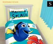 SINGLE DISNEY FINDING NEMO DORY QUILT DOONA COVER PILLOWCASE SET, BONUS STICKERS