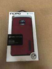 New Original INCIPIO DualPro Iridescent Red/Black Case for Motorola Moto Z Droid