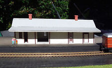 NSWGR A-4 COUNTRY TRAIN STATION 238x76x85mm Laser cut wood kit HO 1/87 Scale MTB