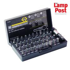 CK Tools T4509-Mezclado Destornillador Bit Conjunto de 41 Piezas con Estuche