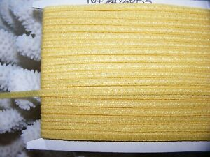 ** Vintage Millinery Straw Braid For Doll Hats * 16 Yards * Yellow **