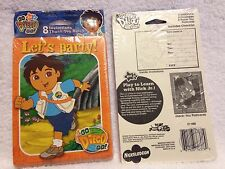 NIP Go Diego Go Birthday Invitations and Thank You Cards - 16 of each type