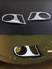 NEW Chrome FOG LIGHT Surrounds Covers Trims for Jaguar X Type X400 08-09 LCI