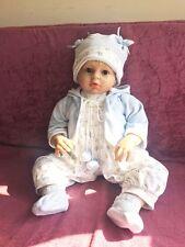 "28""/70cm Big Reborn baby boy doll toy newborn Soft Vinyl silicone Birthday gifts"