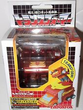 Takara Transformers Choro Q Rodimus Prime Metallic q-06 Ver. Figure CHOROQ misb