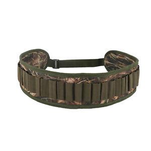 Tourbon Shotgun Bandoleer Cartridges Carry Ammo Belt Shell Holder Clay Shooting