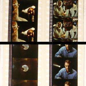 Original Steven Spielberg Jurassic Park (1993) Film Cell 35mm - 4 strip set #12