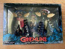 NECA GREMLINS WINTER GREMLINS 2 PACK 7? CHRISTMAS GREMLIN SPECIAL FIGURE PACK