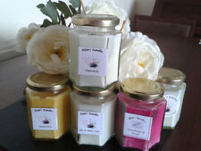 Handmade Soy Wax Jasmine Candles & Tea Lights