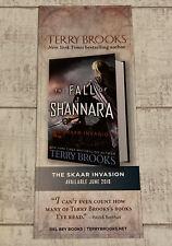 Terry Brooks Bookmark The Fall of Shannara: The Skaar Invasion Promo 2018