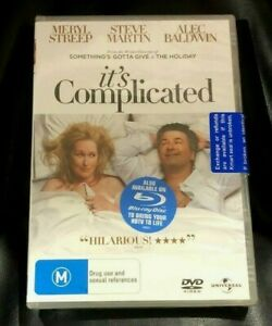 It's Complicated (DVD, 2010) Brand New Sealed in Plastic Region 4