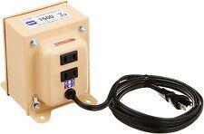 NISSYO INTERNATIONAL TRANSFORS NDF series voltage down 120V 100V1500W NDF-1500U