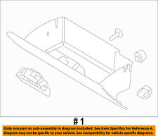 FORD OEM 2009 Flex-Glove Compartment Box Assy 8A8Z7406024AB