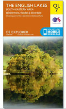 OS Explorer OL7 LAKE DISTRICT The English Lakes - South Eastern area OS Map NEW