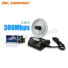 300 Mbit WiFi WLAN Wireless Adapter USB2.0 Hohe Energie Signal Empfänger Antenne