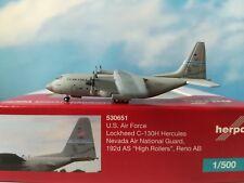 Herpa Wings 1:500 530651  U.S. Air Force Lockheed C-130H Hercules *
