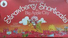 New Vintage 1981  Strawberry Shortcake in Big Apple City Board Game