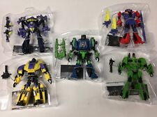 Transformers Generations Deluxe BRUTICUS SET LOT Fall of Cybertron All New Loose